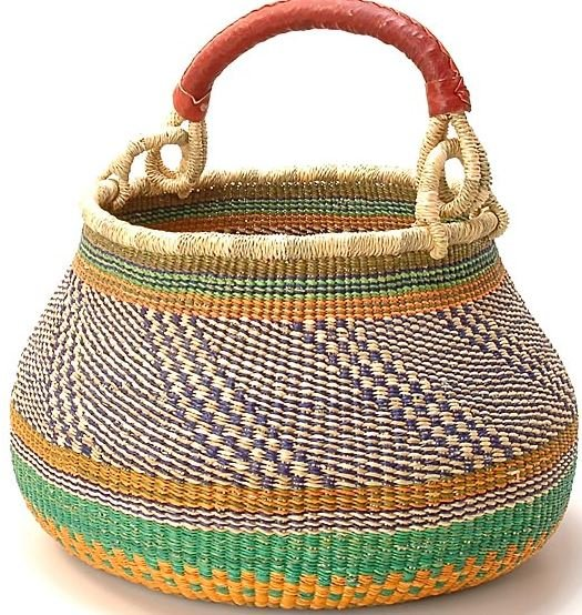 GB34 GHANA BOLGA GAMBILIBGO POT BASKET 1 HANDLE