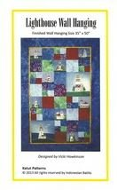 J LIGHTHOUSE WALL HANGING PATTERN