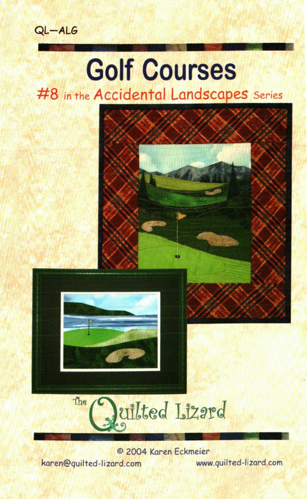 J QUILTED LIZARD GOLF COURSE 117-P