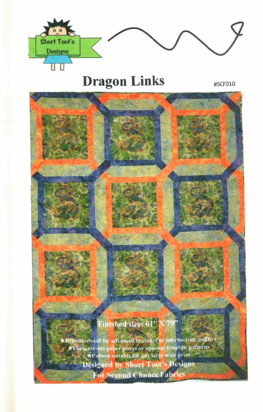 J SHORT TOOTS DRAGON LINKS  116-P
