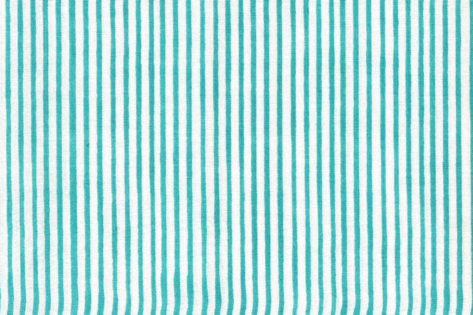 LORALIE DESIGNS 691-838-B LAZY STRIPE TURQUOISE