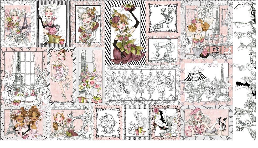 LORALIE DESIGNS 691-937-B SEW PAREE