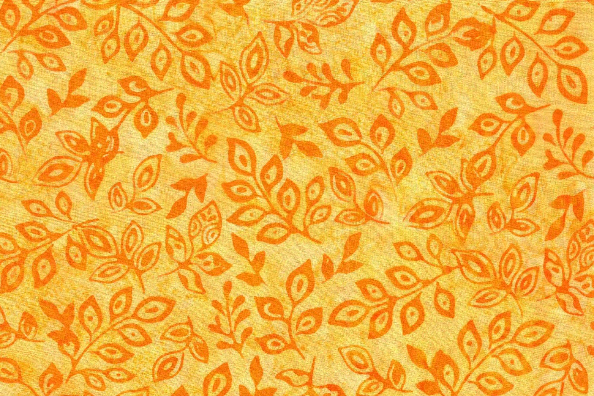 N HOFFMAN K 2438-9 YELLOW FLOWERS