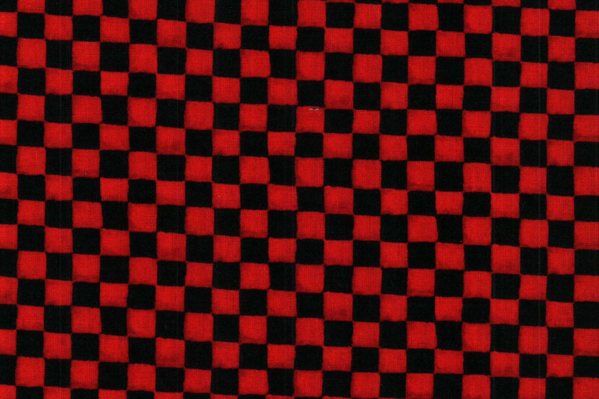WILMINGTON 84335 RED-BLACK CHECKS