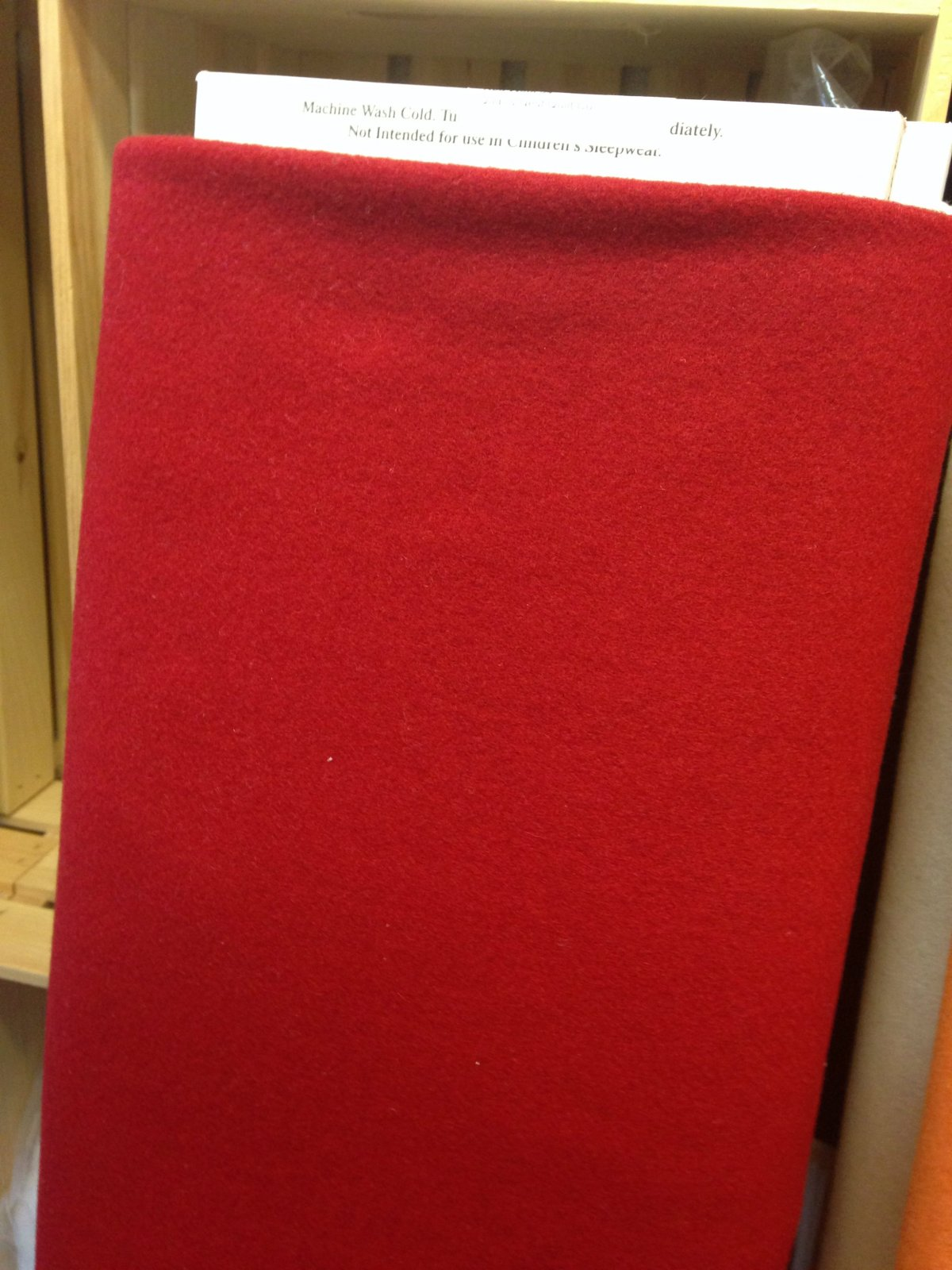 Red Wool 54