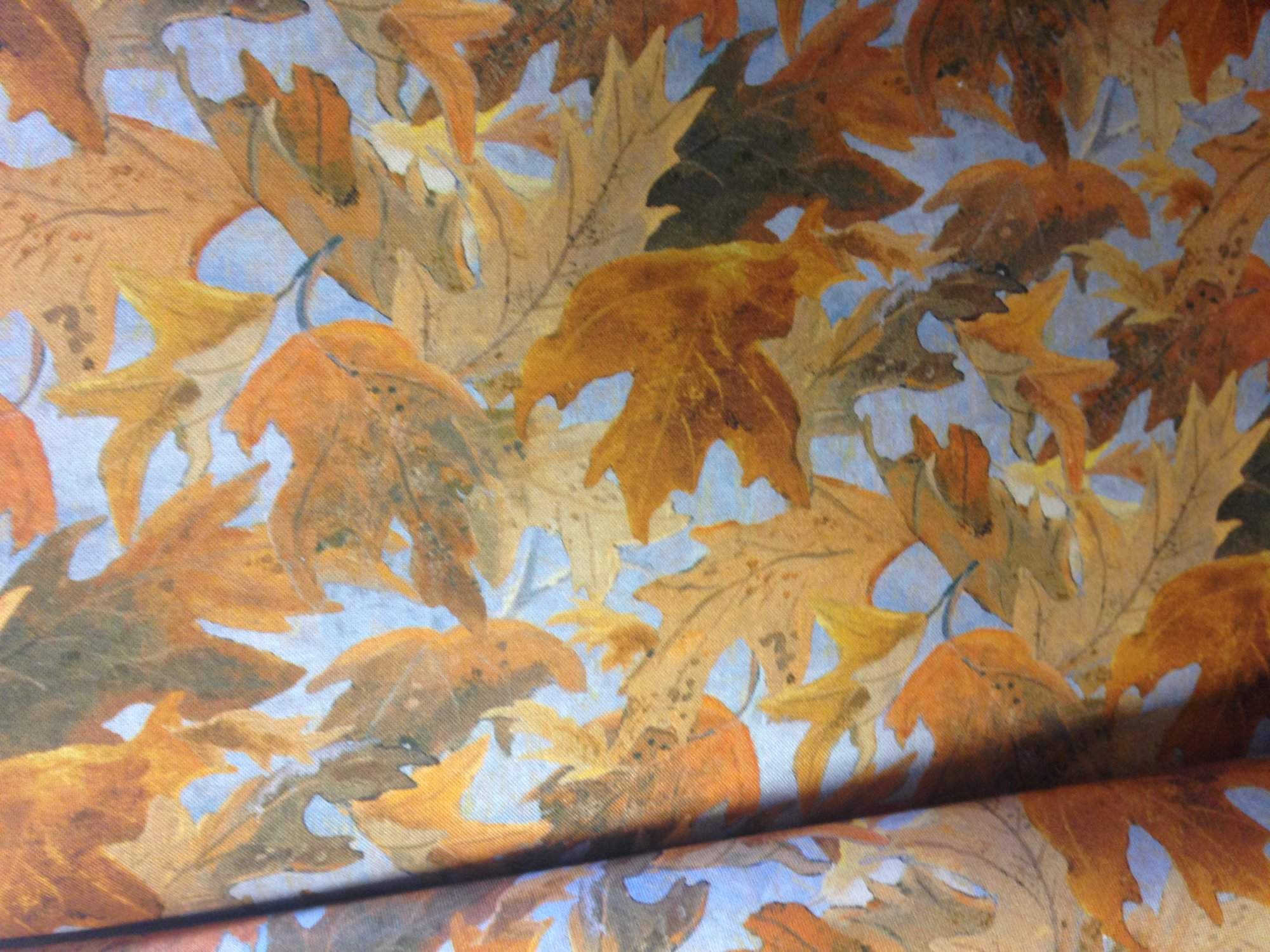 fall leaves - nightfall