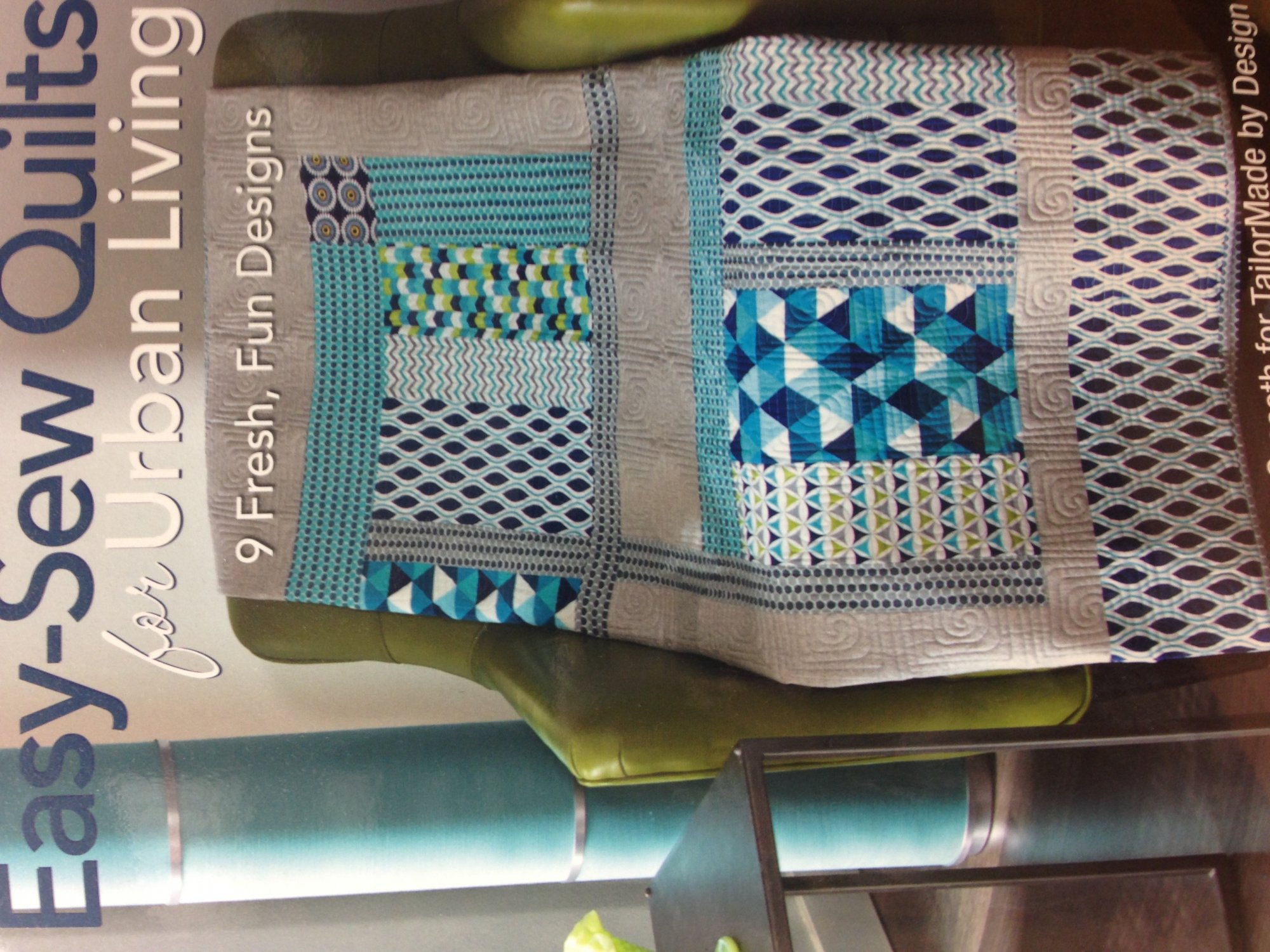 Easy-Sew Quilts for Urban Living - Softcover
