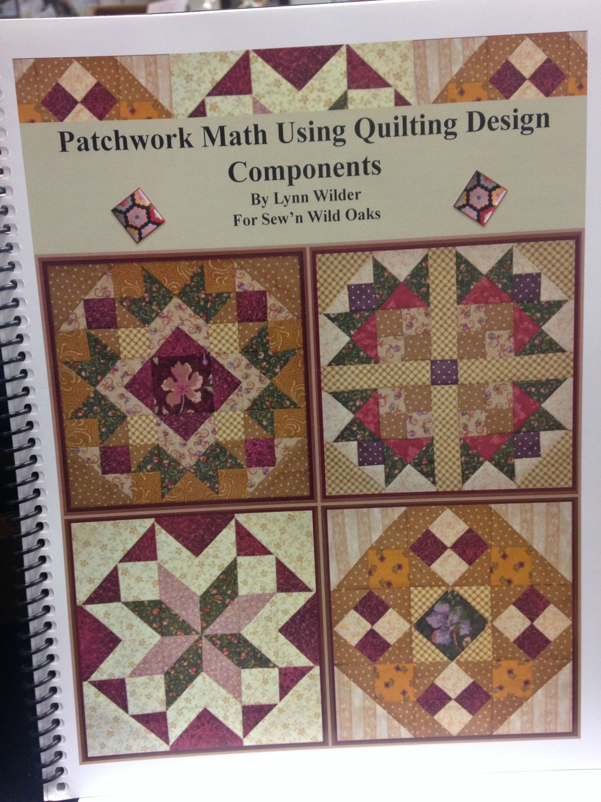 Patchwork Math Book