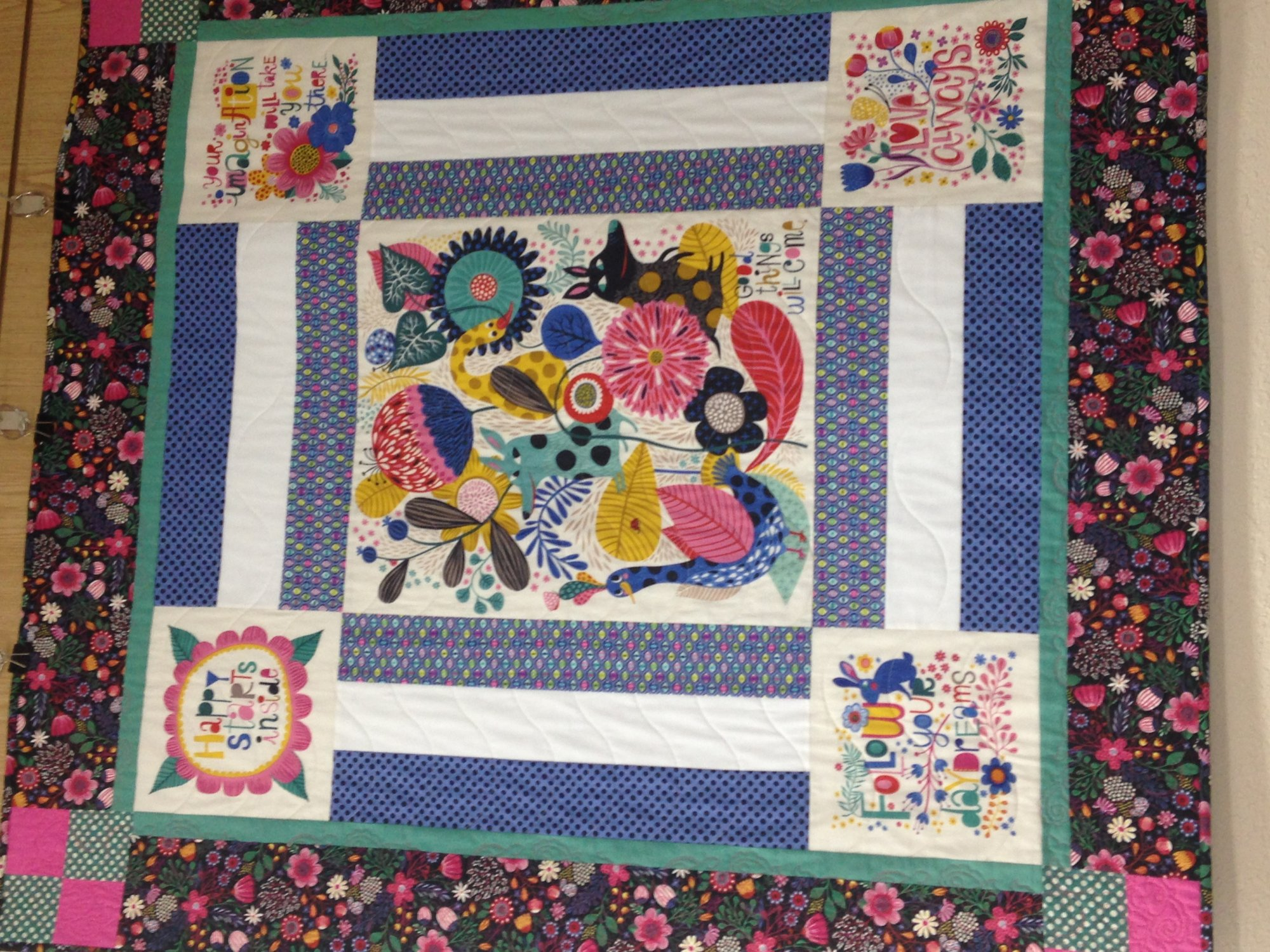 Good Things Will Come quilt