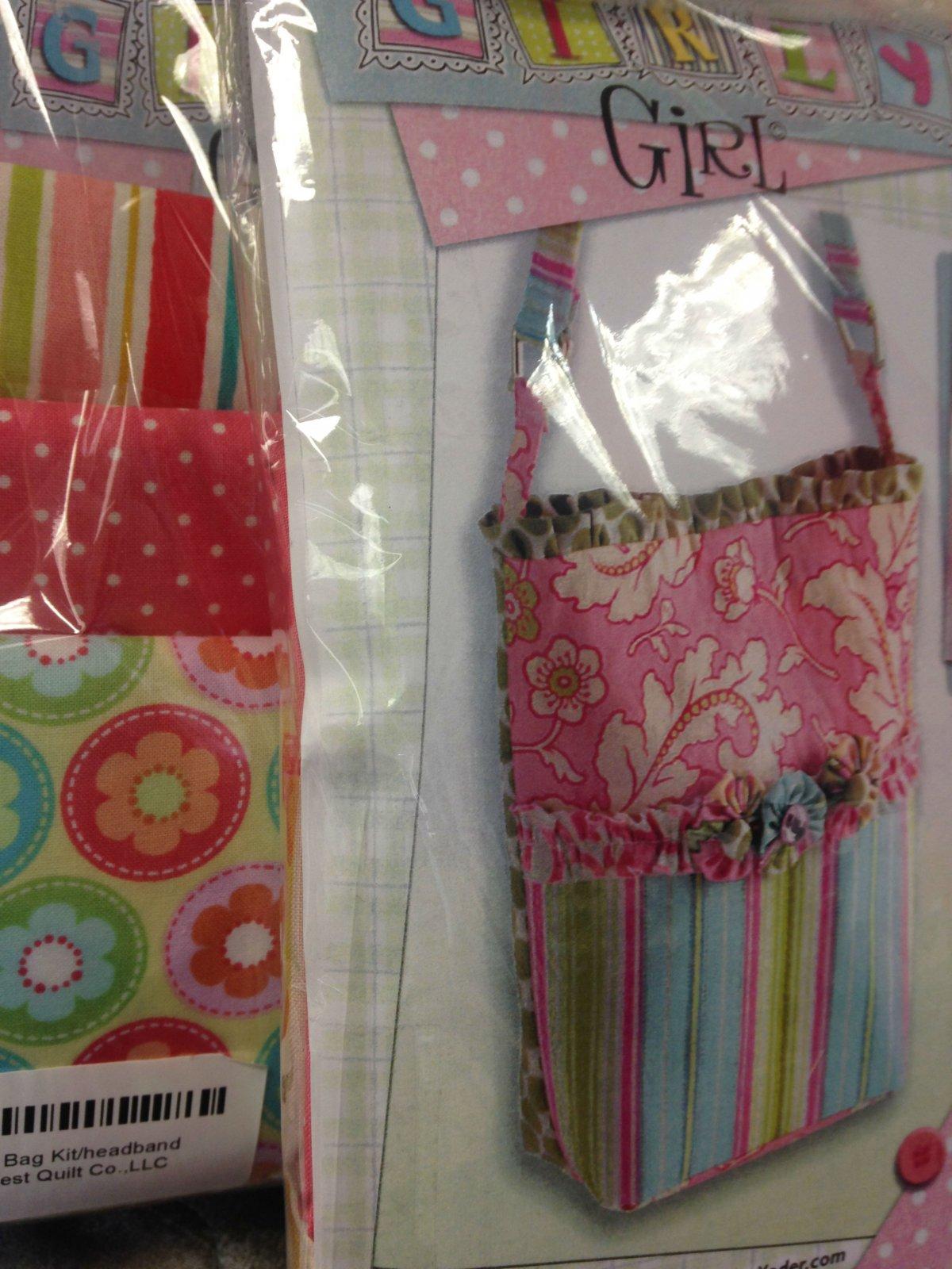 Girly Girl Bag Kit/headband