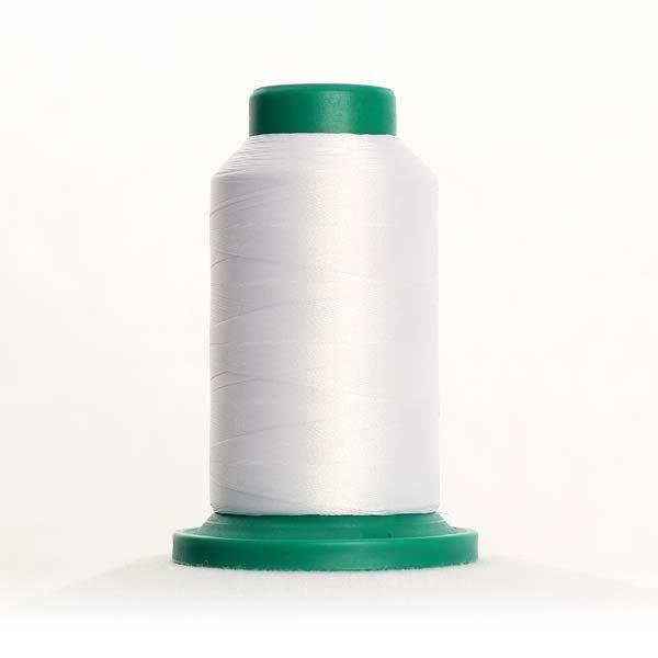 Isacord Thread 1000m 0015-White