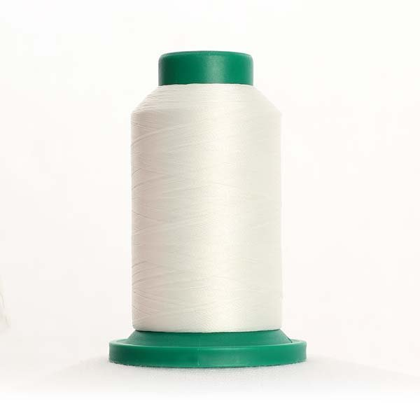 Isacord Thread 1000m 0003-Ghost White