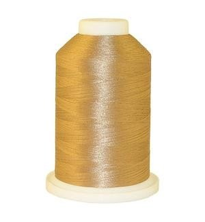 100% Polyester Color Fast, High Shine Embroidery Thread - Beige