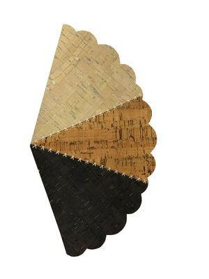 Cork, Ever Sewn, 12 x 18 Cuts, Birch, Natural, Smoke