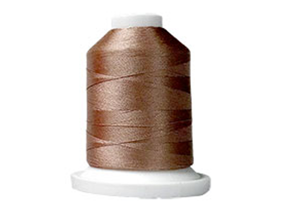 100% Polyester Color Fast, High Shine Embroidery Thread - Dk Highlight Taupe