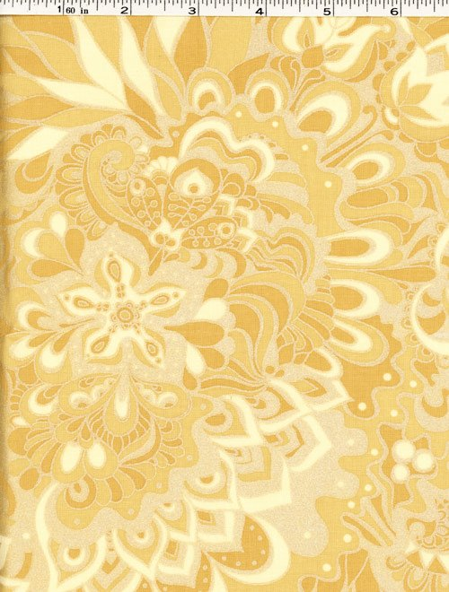 Jubilee Fabric - Floral Butter