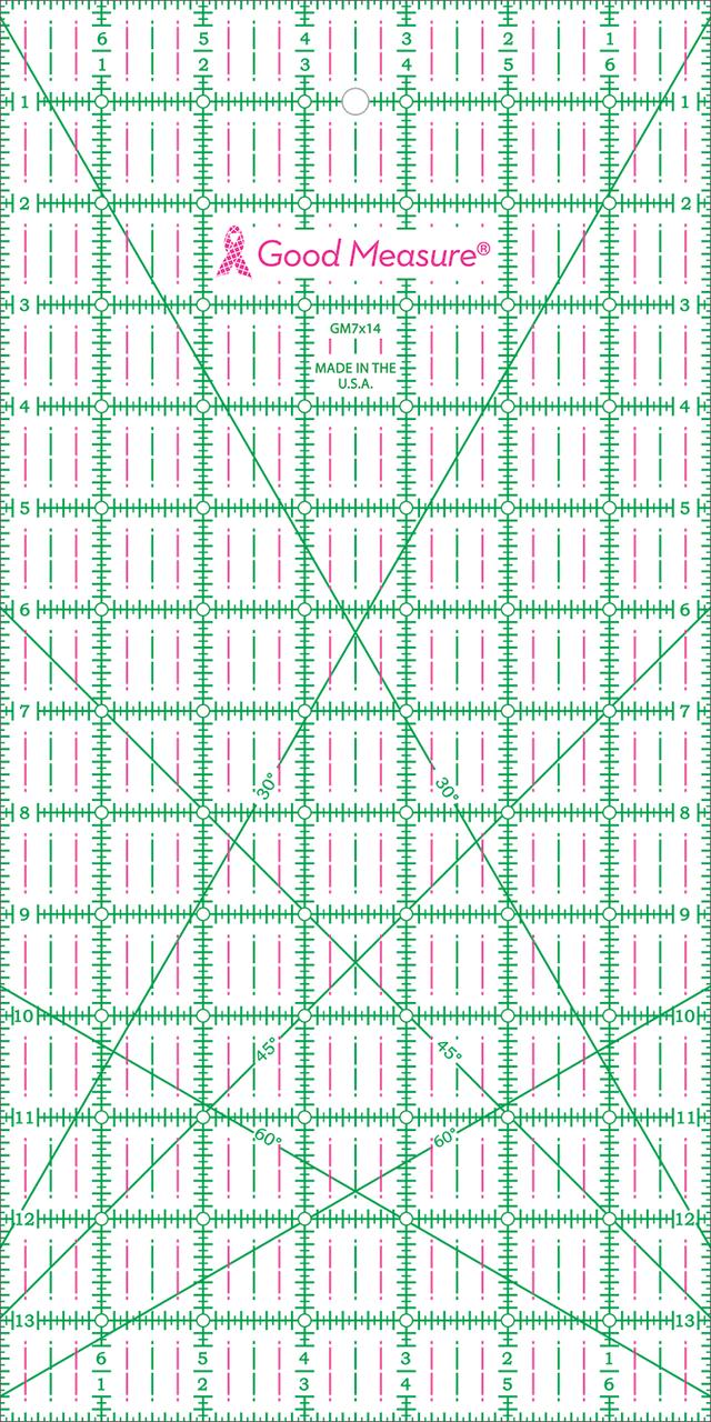 7 x 14 Ruler Good Measure