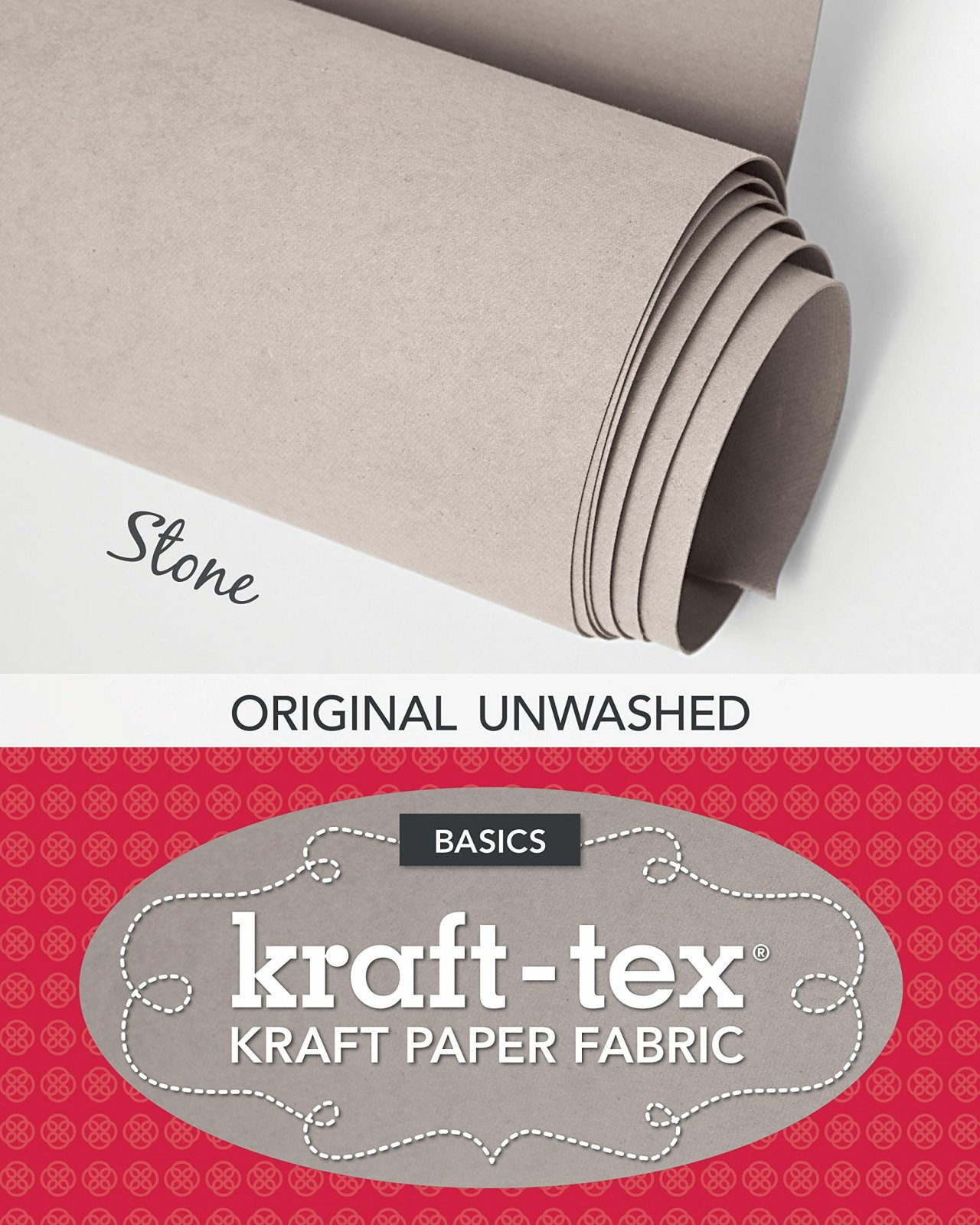Kraft-Tex Kraft Paper Fabric - Stone