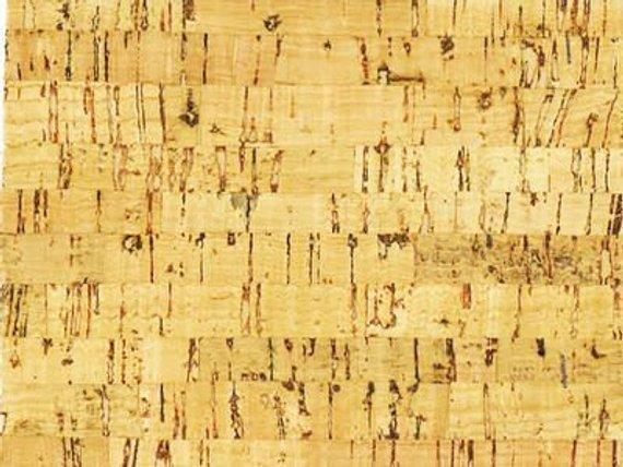 Natural Cork Fabric  - 18 x14