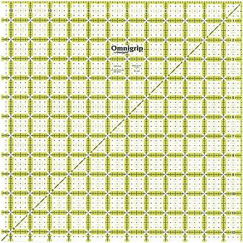 Omnigrip 121/2 X 12/1/2 Ruler
