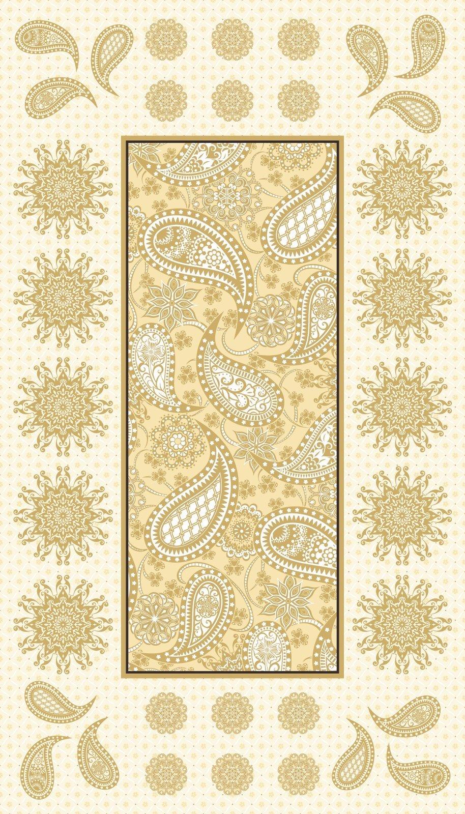 Jubilee Embroidery Panel, Cream