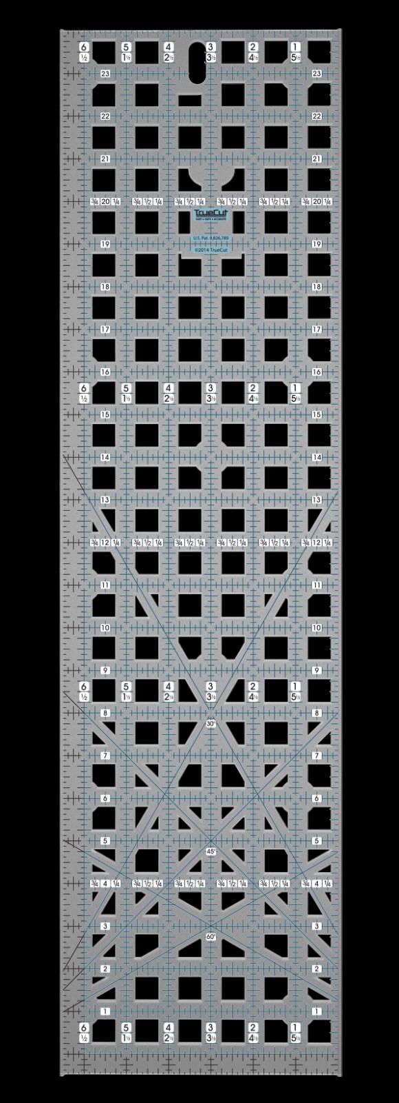 6.5 x 24.5 Ruler TrueCut
