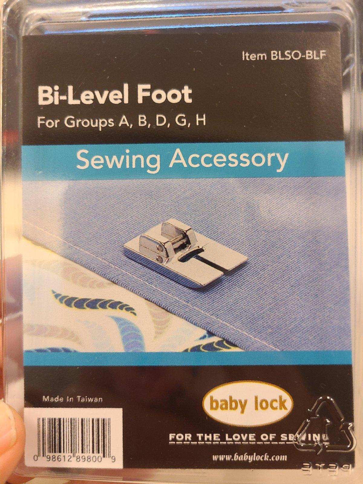 Baby Lock Bi-Level Foot
