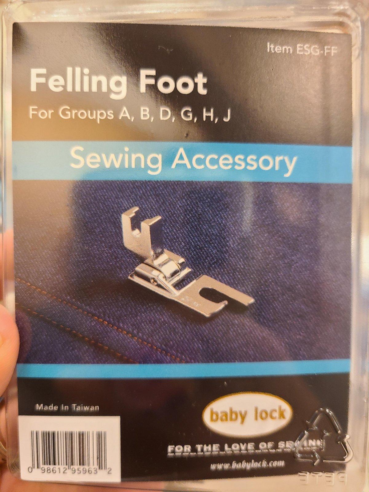 Baby Lock Felling Foot