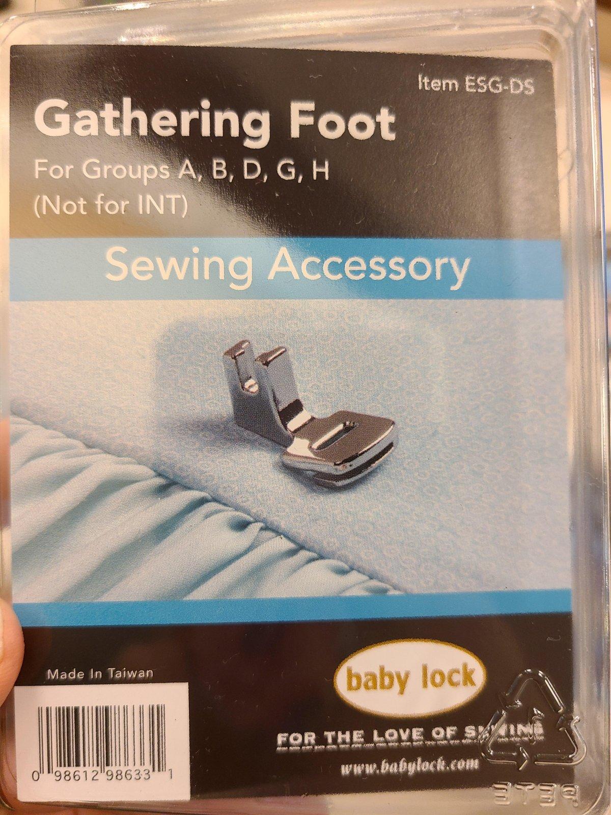Baby Lock Gathering Foot