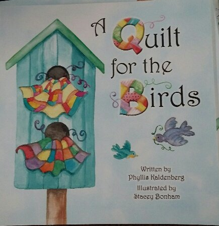 A QUILT FOR THE BIRDS BOOK