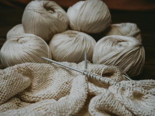 multiple yarn balls