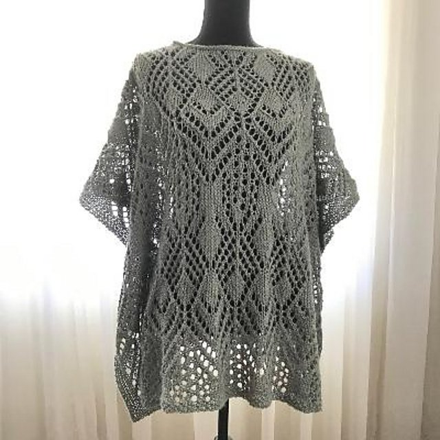 Breezy Poncho Pattern - Download from Ravelry