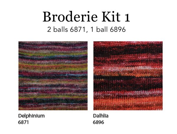 Broderie Drop Ship Kit