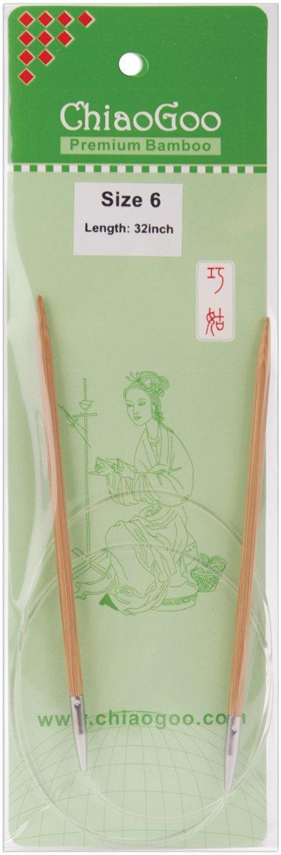 Premium Bamboo, Patina Circular Needle Size - US 6