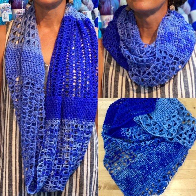 Crochet Cadot Cowl Drop Ship Kit