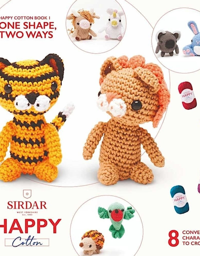 Happy Cotton Amigurumi Books