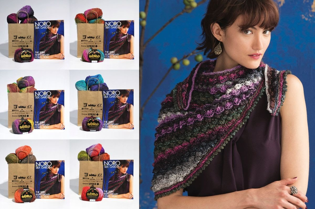Hyacinth Stitch Shawl Drop Stitch Kit