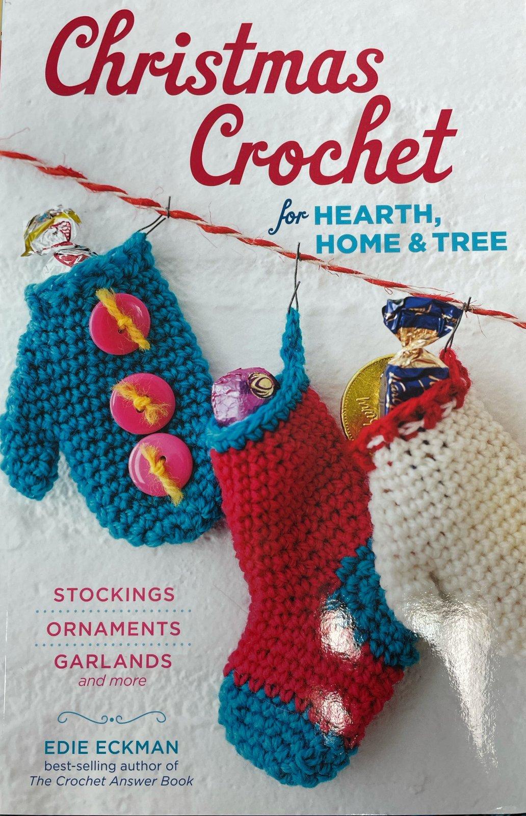 Books: Christmas Crochet for Hearth, Home & Tree