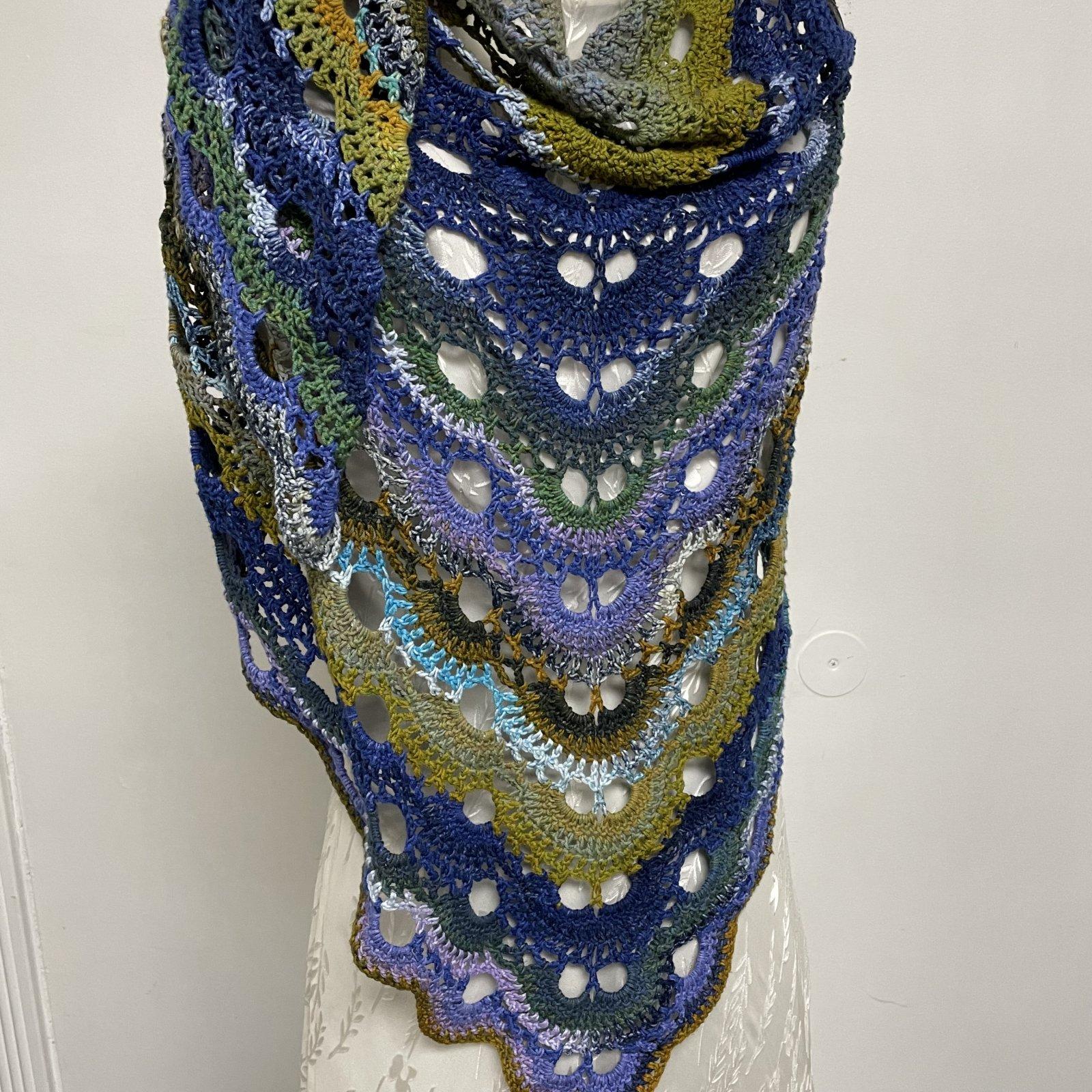 Virus Shawl Crochet Kit