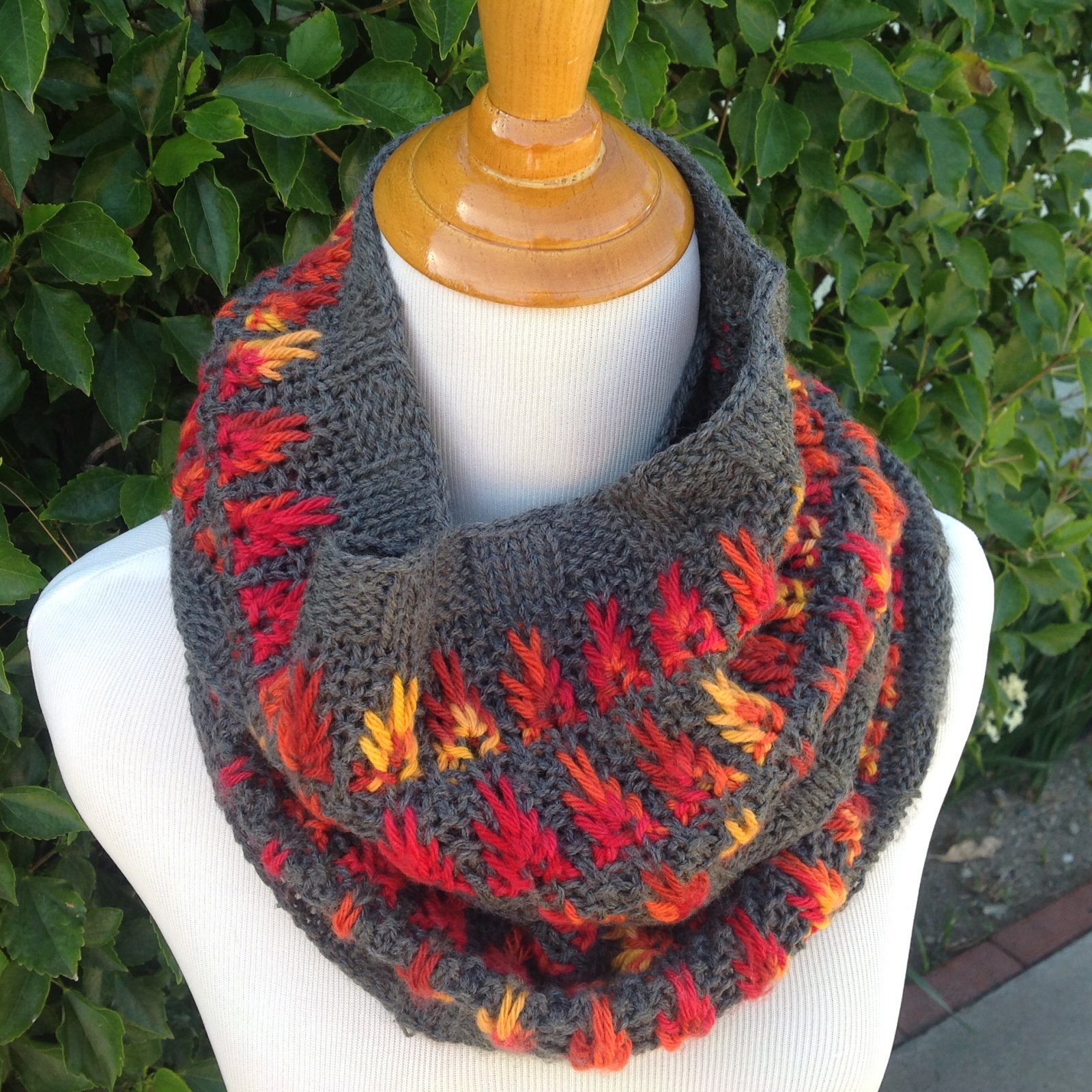 Fire and Ash Cowl Digital Pattern