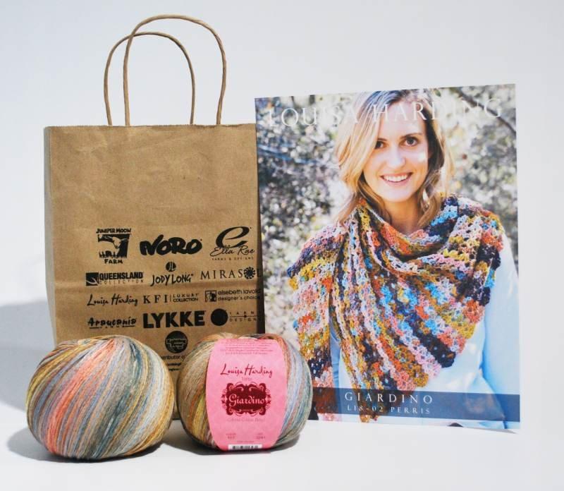 Perris Crochet Shawl Drop Ship Kit