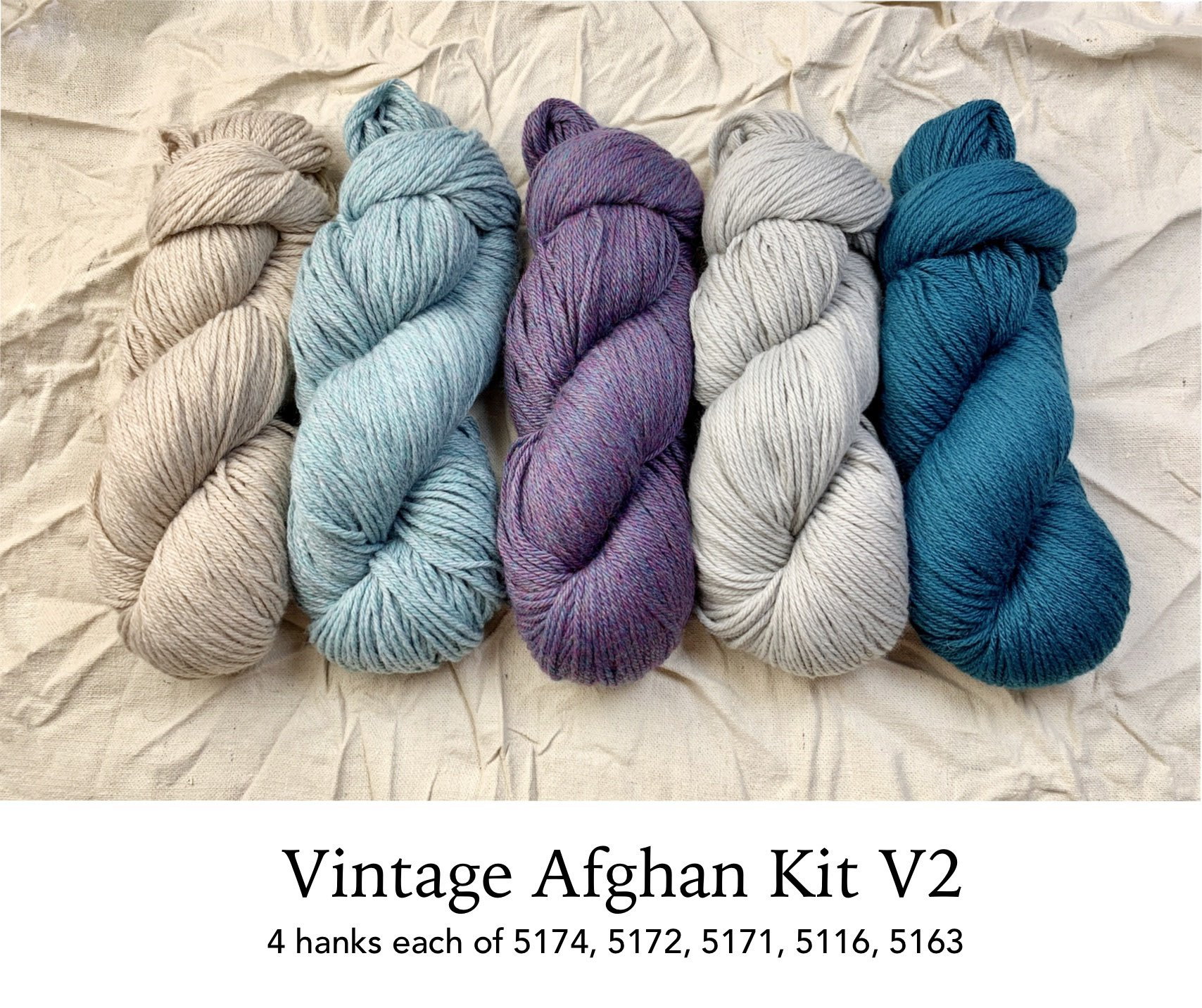 Norah's Vintage Afghan Drop Ship Kit