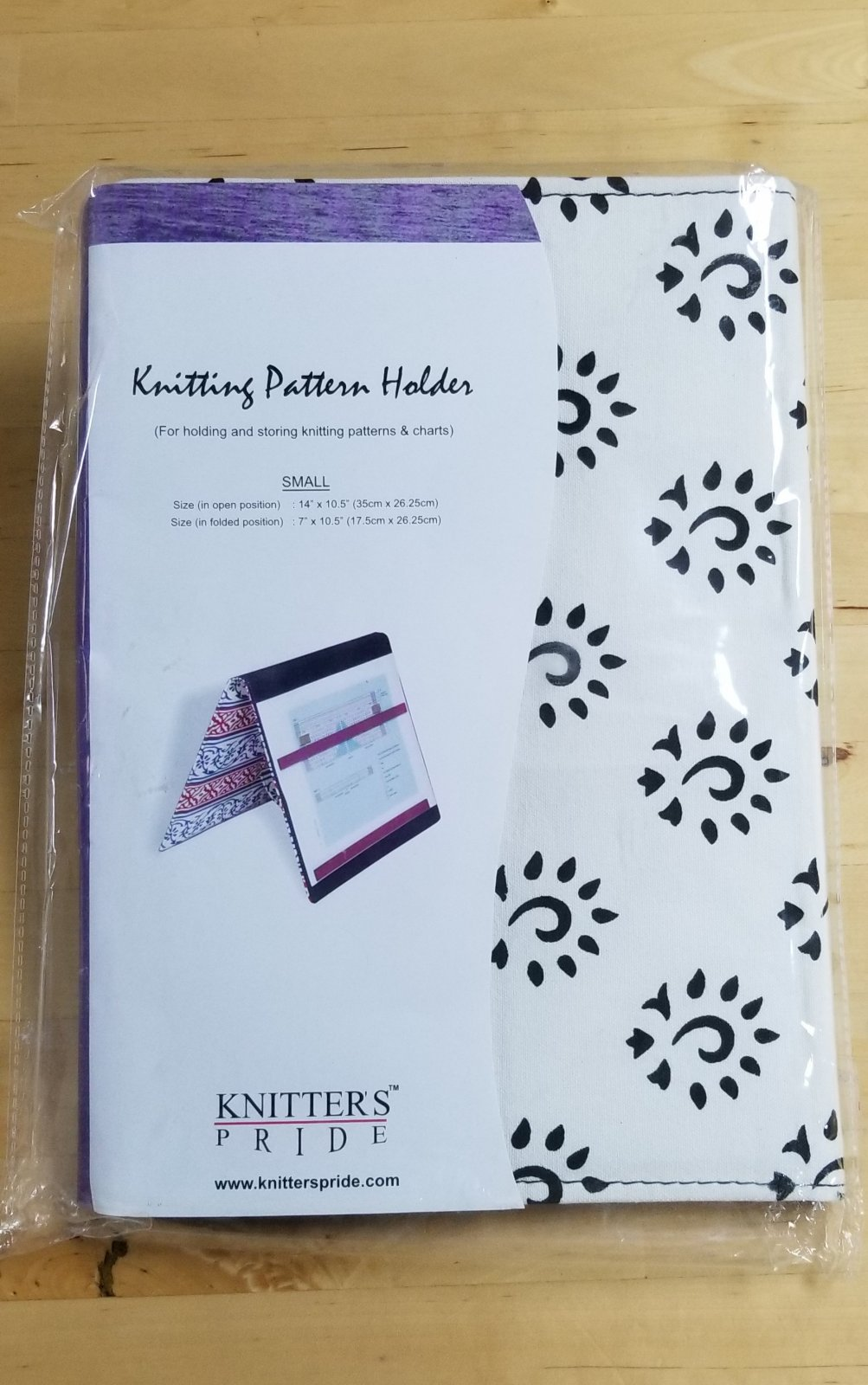 Knitting Pattern Holder