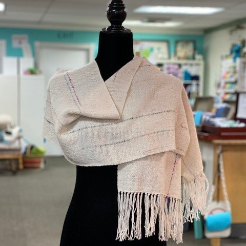 Lines Woven Shawl Kit