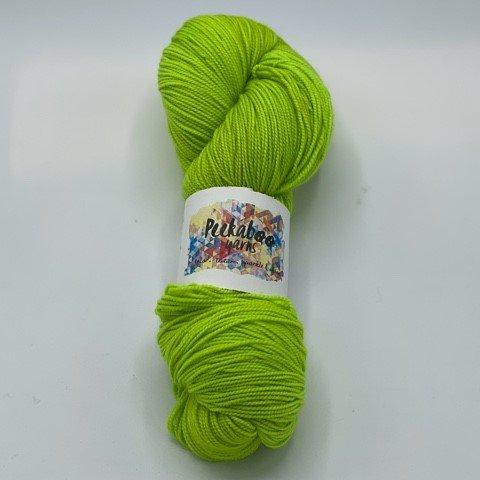Peekaboo 85/15 high twist 2 ply yarn