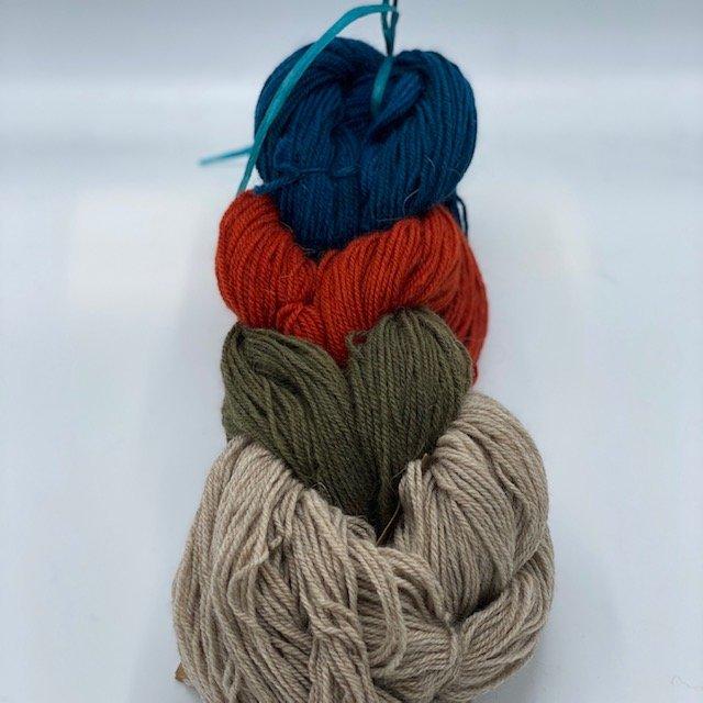 Colorwork Pillow  Yarn Kits