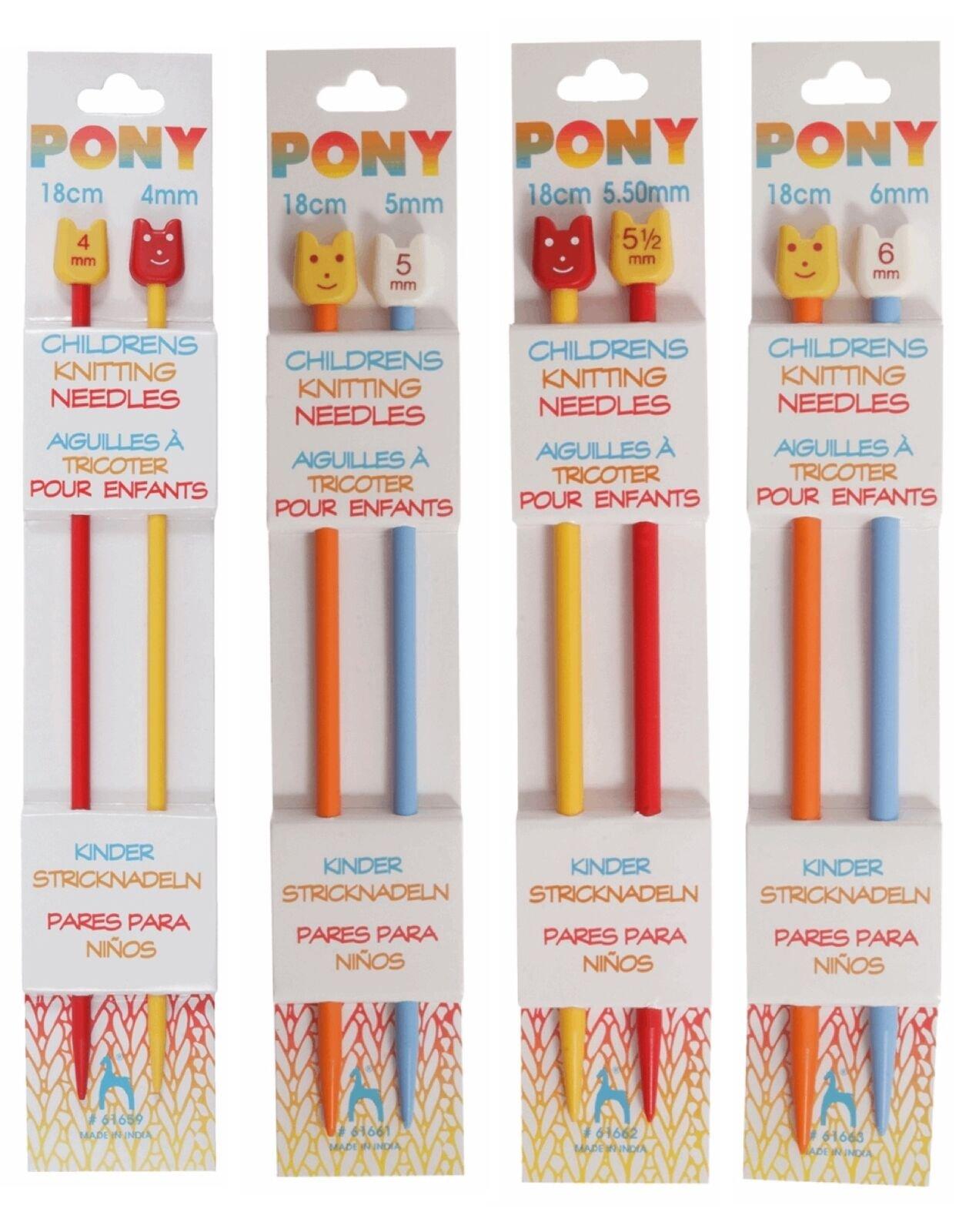 Pony Childrens Needles