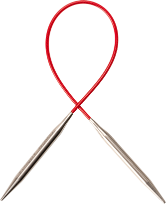 Red Lace Circular Needle Size - US 11, 8mm