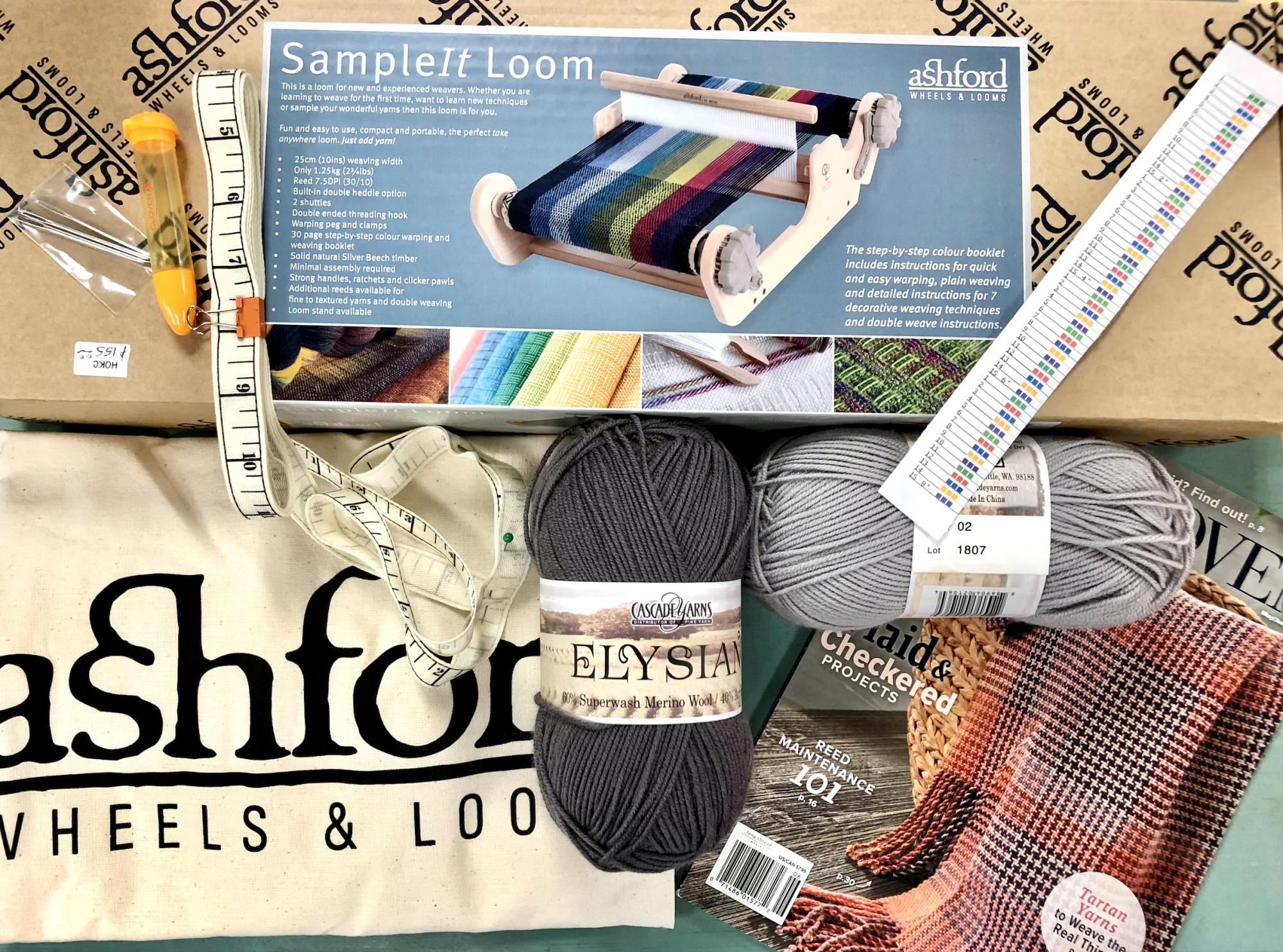 Ashford All in the Box 10 Inch Sample It Loom Kit