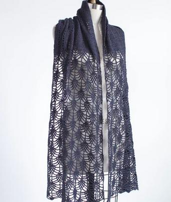 Pensdale Wrap Crochet Kit